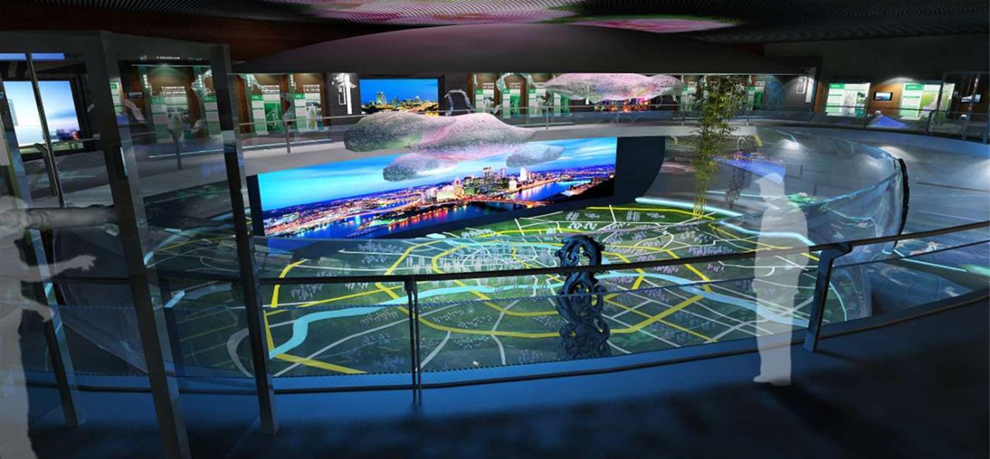 智慧城市展厅解决方案